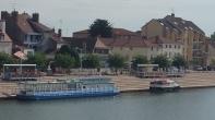 Saune river and St Jean d Losne