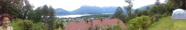 Annecy camping view