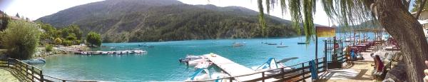 Saint Julien du verdon.. Castillon Lac still