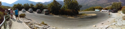 Route des Cretes, D23, Verdon Gorge.. the european Grand Canyon and another hairpin