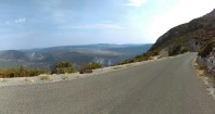 Route des Cretes, D23, Verdon Gorge.. and another hairpin.. awesome road