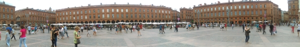 Toulouse centre square