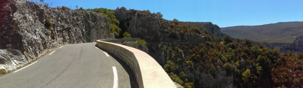 the D71, in Verdon as well, another amazing route