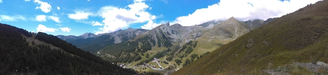 Close to the clouds, well over 2000 mts