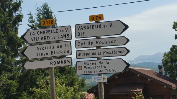 Right turn, Die via Col du Rousset here we go