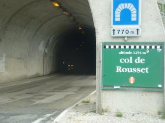 Col du Rousset tunnel