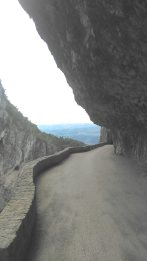 Gorges du Nan.. One of the most scenic and dangerous roads of France as it it a 2 way road.