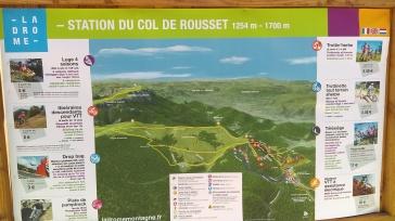 Col du Rousset ski Station