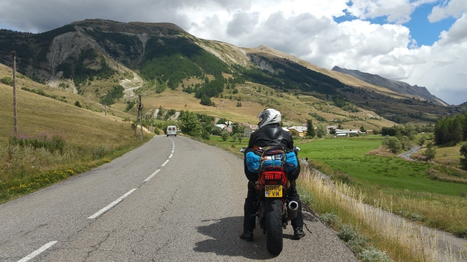 the mountains, the road and I.. Perfection!!!