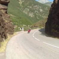 As I mentioned, it is a popular route among bikers