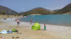 the lake beach
