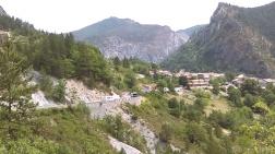 Rouaine view from la Roche Percee