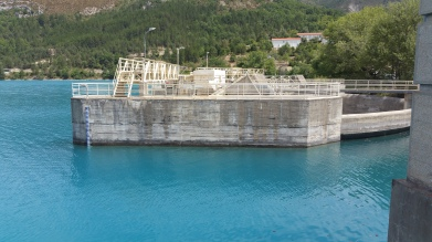 the Dam and EFT power plant