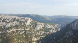 Mountains and gorges all around us