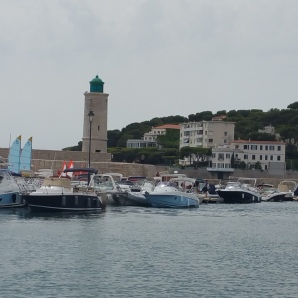 Leaving the Port to see the colossal Calanques De Cassis