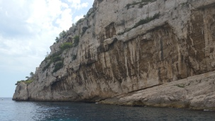 The amazing rock formation of the Calanques
