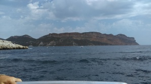 The Colossal cliff, just East of Cassis