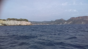 returning to Cassis ( at the far end)