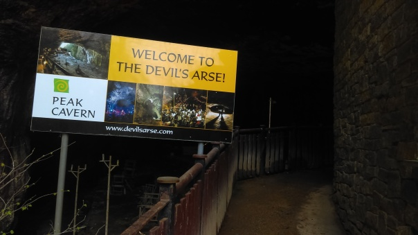 Devil´s Arse entrance