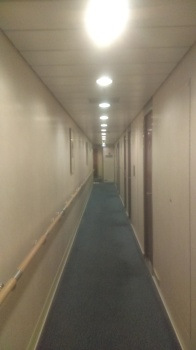 On the 7th Floor looking for my 4 berth cabin