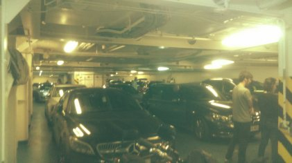 The ferry garages